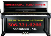 "PROFESSIONAL PIANO MOVERS "" your key to a successful piano miove"