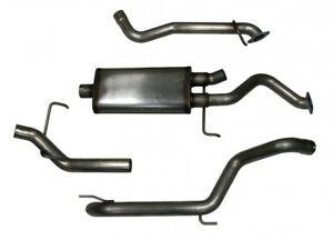 Toyota Land Cruiser LX470 (1999-2005) Stainless Cat-Back Exhaust