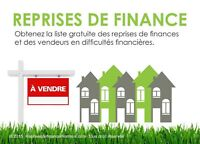 Reprises de finance Grand Montréal Foreclosures Greater Montreal