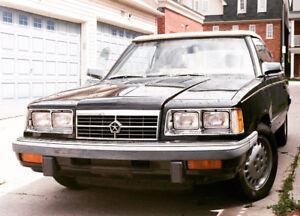 1986 Dodge 600ES turbo Convertible