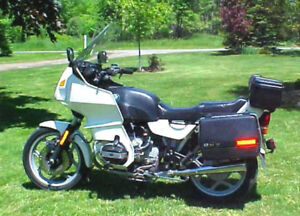 1986 BMW R80RT Mono-lever AIR cooled BOXER 798cc, OHV