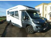 Roller Team T-Line 740 Island Bed and Electric Dropdown Bed Motorhome For Sale