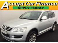 Volkswagen Touareg 3.0TDI V6 DPF auto 2009MY Altitude FROM £59 PER WEEK !