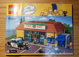 Simpson's Emart LEGO