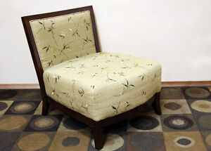 Modern & Contemporary Low Slung Accent Chair SEE VIDEO