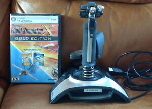 Microsofft Flight Simulator Gold Edition w Joystick