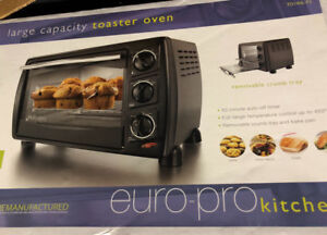 Euro-pro Toaster Oven for sale