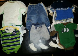 Boys 3-6 Month Clothing Lot - 40 Pieces!