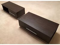 Argos Minsk Collection TV Unit/Cabinet & Coffee Table, As New!!