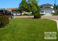 Weekly Mowing: If you have less time...