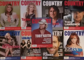 Country Music People Magazines