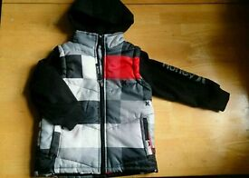 Three new/as new very warm winter jackets age 4-5 and 6-7
