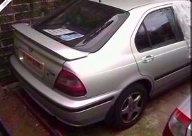 2000 HONDA CIVIC 1.5 VTEC SPORT & 1.4 PETROL BREAKING FOR PARTS BLUE AND SILVER