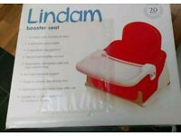 Lindam child's table booster seat