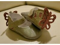 Monsoon baby shoes new