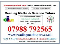 Reading Tutors - Specialists for Maths and Science