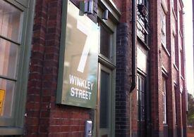 850 sq. ft. Commercial B1 Unit in a Victorain Warehouse Creative Hub - 7 Winkley Street, Hackney, E2
