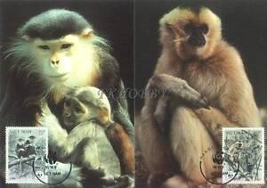 Vietnam 1987 Mi MK 1827-30 WWF Animals Pets Tiere Monkeys Affe Chimpanzee Małpy - Dabrowa, Polska - Vietnam 1987 Mi MK 1827-30 WWF Animals Pets Tiere Monkeys Affe Chimpanzee Małpy - Dabrowa, Polska