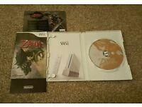 NINTENDO Wii ZELDA TWILIGHT PRINCESS COMPLETE GAME.