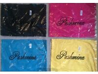 Pashmina, hijab, shawl, scarf, women's gift - £10 for all 4