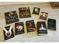 Twilight Saga book collection