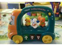 Vtech rocking animal bus