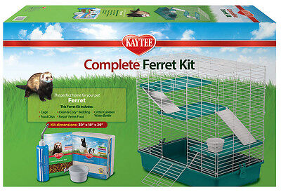 Kaytee Fiesta My First Home Complete Starter Cage Kit for