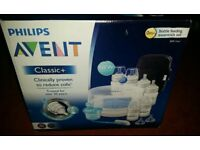 CAN DELIVER Phillips Avent Classic + Bottle Feeding Essentials Set 0 months +