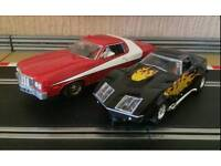 Scalextric digital starsky and hutch cars