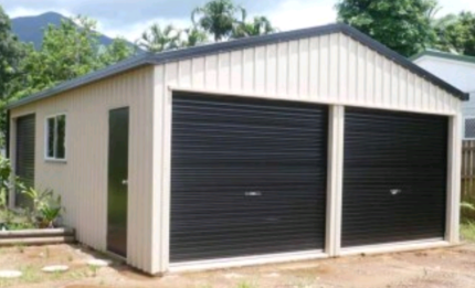 Wanted: WTB steel frame shed/garage