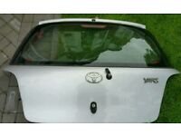 Toyota Yaris tailgate