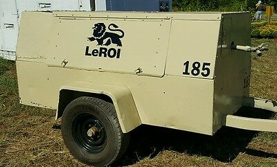 Leroi Air Compressor Decal Kit