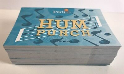 - Partini Game Replacement Hum Punch Cards Complete Set Pieces Parts EUC