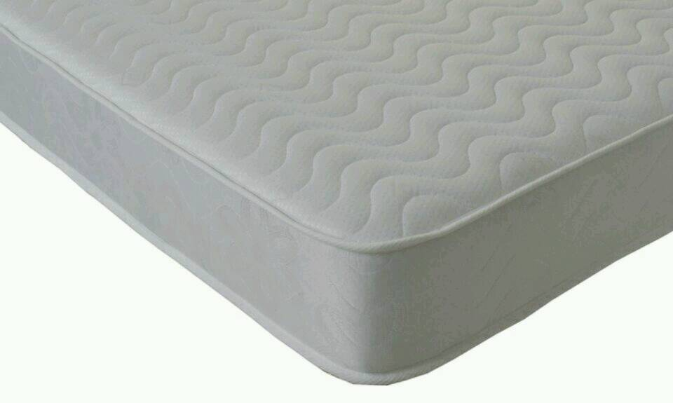 Deep Quilted Semi-Ortho Memory Foam King Size Mattress Never Used