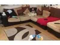 Large corner sofa need gone sstc