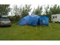 Gelert nemesis 8 birth tent + canopy + carpet + windbreaker +footprint