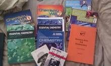 Year 11 & 12 Text Books/ Study Guides - Chemistry, English, Math Lathlain Victoria Park Area Preview