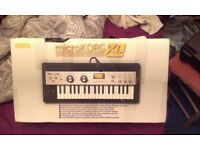 Microkorg XL - keyboard, synthesiser, vocoder