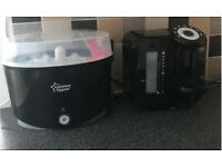 Tommee Tippee Perfect Prep Machine & Sterilser Bundle With Bottle Warmer