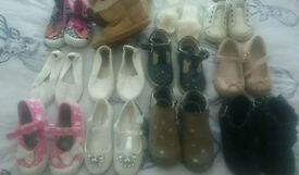 Girls shoes lot size 7