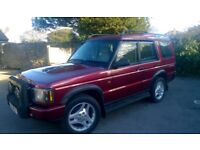 Excellent condition Land Rover Discovery 2 SUV 2.5 TD5 WE 5 doors 7 seats