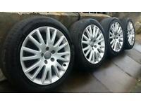 "Genuine 17"" Audi Alloys A3 A4 A6 VW Golf Touran Passat TT Seat Leon Alhambra"