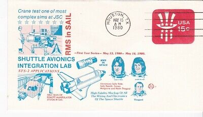 STS-2 APPLICATIONS RMS IN SAIL HOUSTON TX MAY 15 1980 SPACE VOYAGE