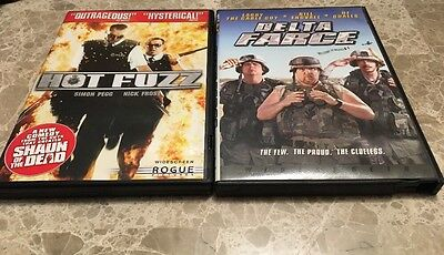 Hot Fuzz & Delta Farce DVDs Widescreen 2007 Funny movies (Hot Funny Movies)