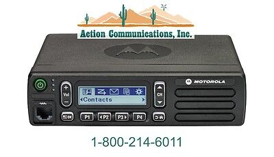 New Motorola Cm300d Digitalanalog - Uhf 403-470 Mhz 25 Watt 99ch Mobile Radio