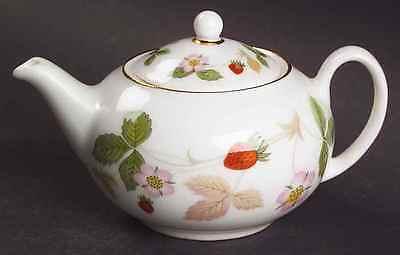 Wedgwood WILD STRAWBERRY (BONE) Miniature Tea Pot 5934211