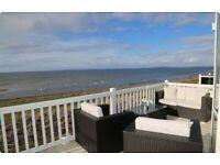Craig Tara Ayrshire. *Dog Friendly* Caravan for hire on Beachfront. Fantastic Sea Views. Veranda.