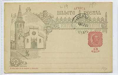 (Gv632-438) Pre Paid PORTUGAL POSTAL Card c1900 VG+