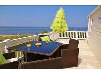 Craig Tara Caravan Hire Ayr - Beachfront - Dogs welcome - Veranda -