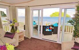 Craig Tara Caravan/Lodge to rent BEACH FRONT - VERANDA - Craig Tara Hire Ayr Ayrshire